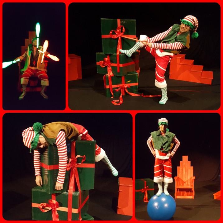 Lutins de Noel .Cirque