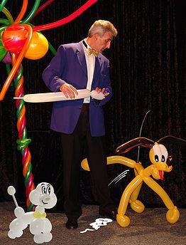 Spectacle de Magie et ballons