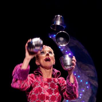 Luce Magie jonglage