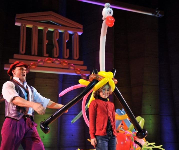 Magie et sculpture de ballons
